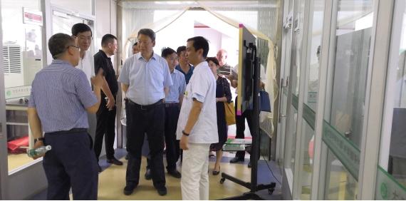 省政协副主席刘卫平一行来实验室考察